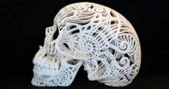 scull in 3d-print
